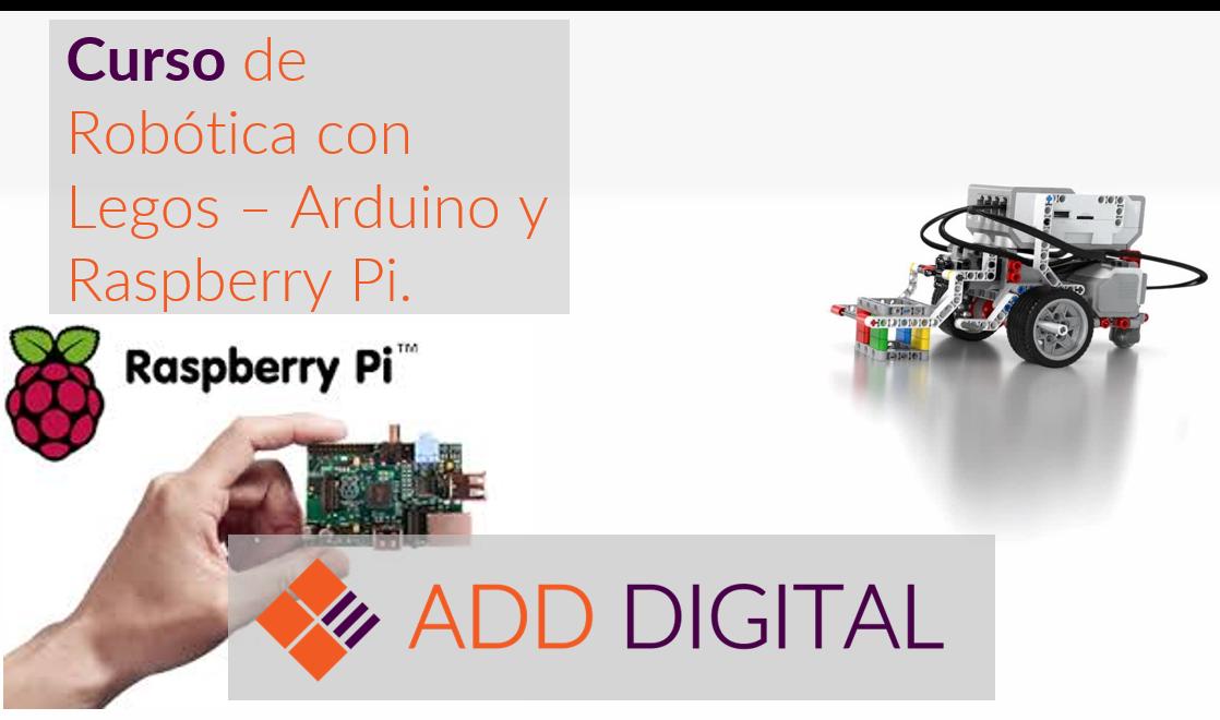 Curso de Robótica con Legos, Arduino y Raspberry Pi