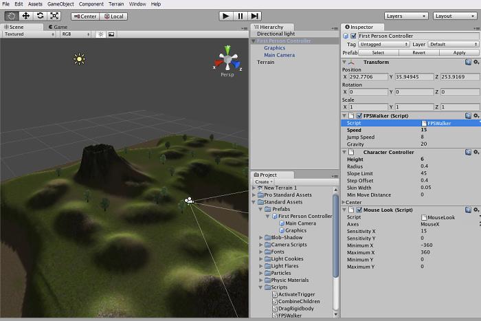 Curso de creación de videojuegos con Unity.
