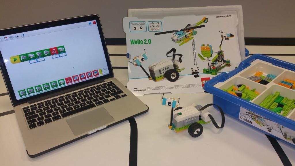 Curso de Robótica con Legos WeDo 2.0, Arduino y Raspberry Pi